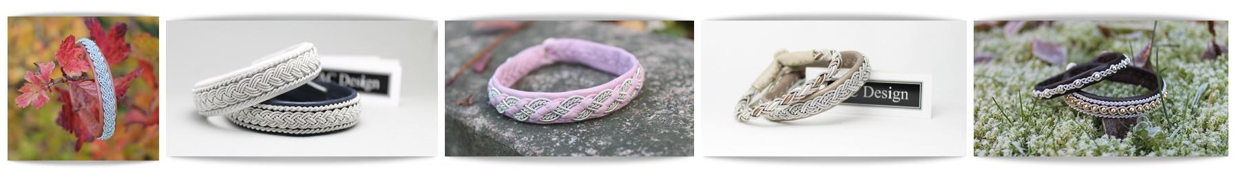 Handmade Saami armband - AC Design - Sweden