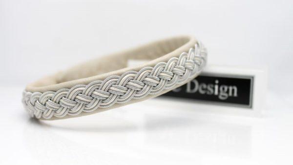 Saami leather armband