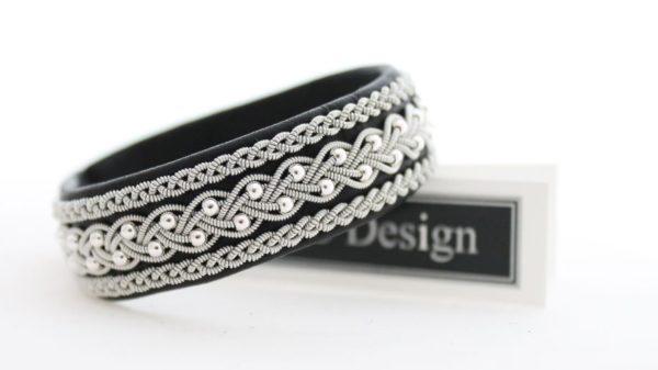 Sami bracelet handmade in SWEDEN