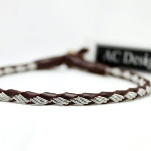 Sami leather anklet