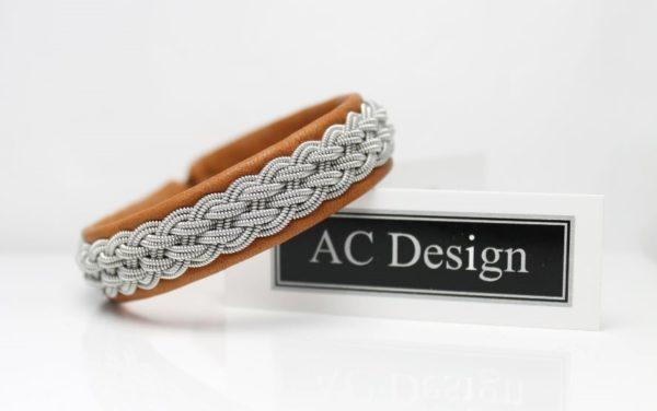 Saami bracelets *BEJLA in reindeer leather.