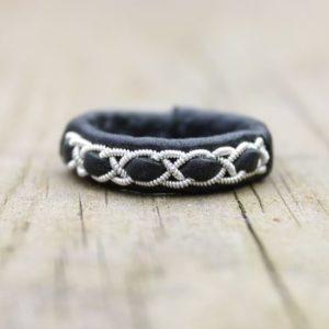 Sami leather ring