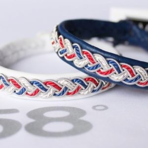 Patriotic Sami bracelets America, France, Norway, United Kingdom