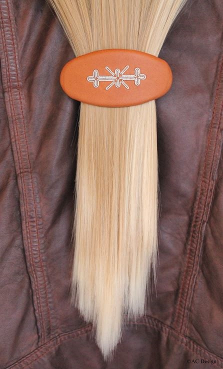 Oval Sami hair barrette