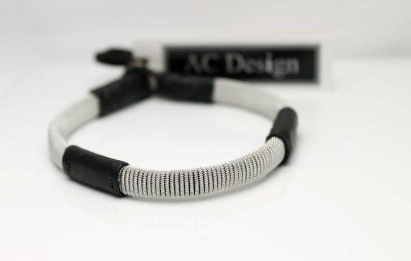 Sami bracelet in reindeer leather, made in Sweden by AC Design