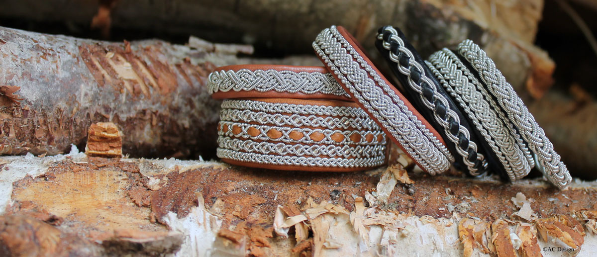 Sami jewellery made in Sweden by AC Design