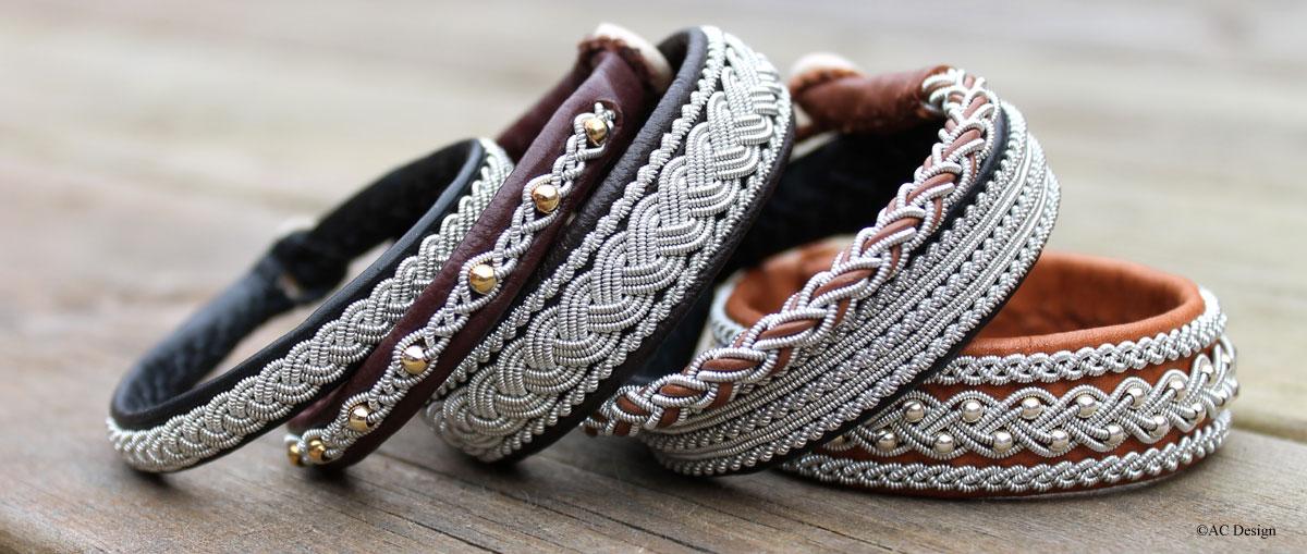 Sami bracelets made in Sweden by AC Design