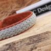 Sami bracelet Bivur in Nature Brwon reindeer leather