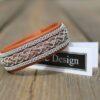Sami bracelet EYLIME in reindeer leather color Muscade